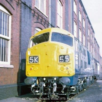 6356 outside Swindon Works 1970. Paul fuller
