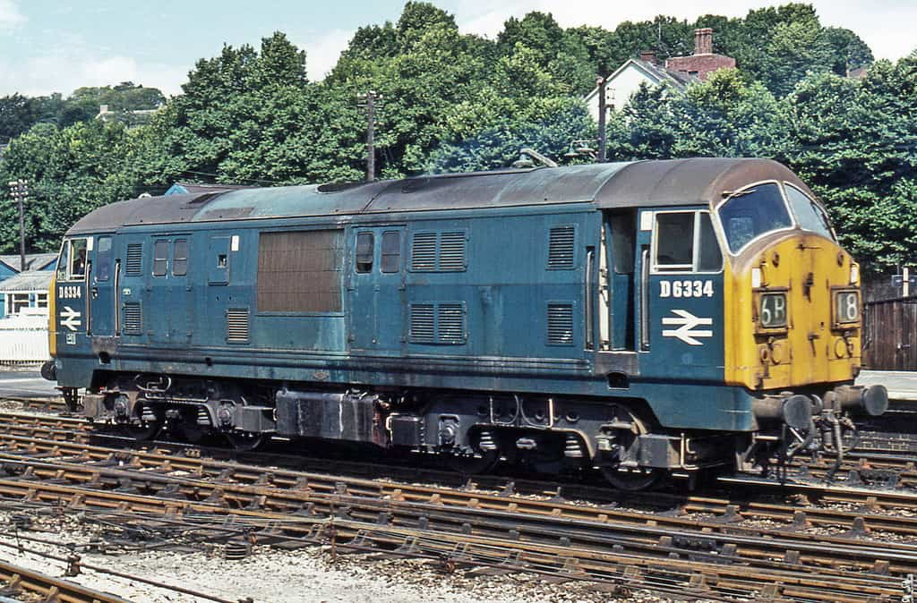 D6334 at Exeter St Davids g.wareham