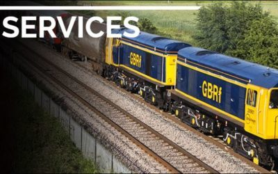 Win A cab ride on the UK main line