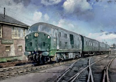 D6327 Ilfracombe. July 1964 R.C Riley